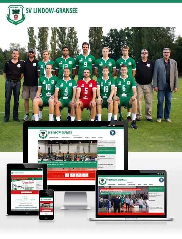 Homepage of the Sport Club Lindow-Gransee